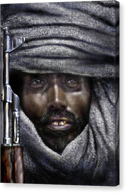 Somalia - How I Live  Canvas Print