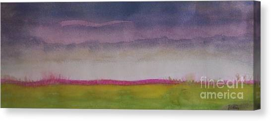 Prairie Sunsets Canvas Print -  Sunset In Prairie by Vesna Antic