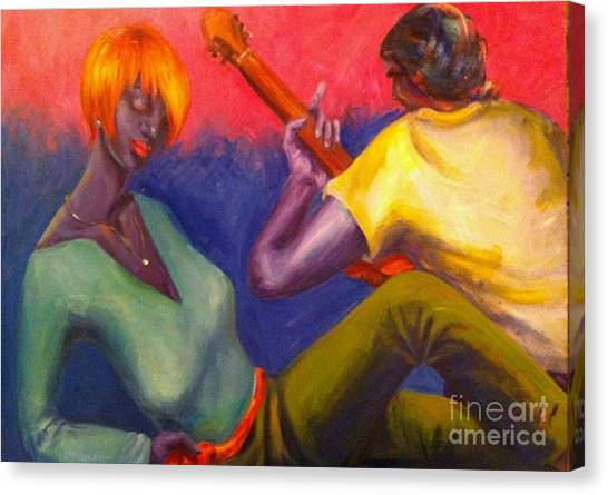 Sunset Serenade Canvas Print