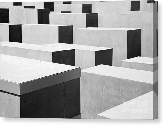 Holocaust Museum Canvas Print -  The Holocaust Memorial by Michal Bednarek