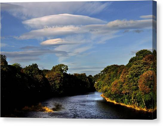 The River Beauly Canvas Print