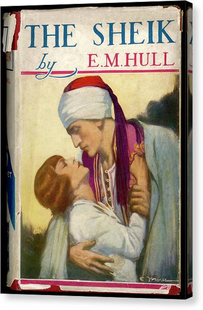 'the Sheik'  By E M Hull       Date Canvas Print by Mary Evans Picture Library