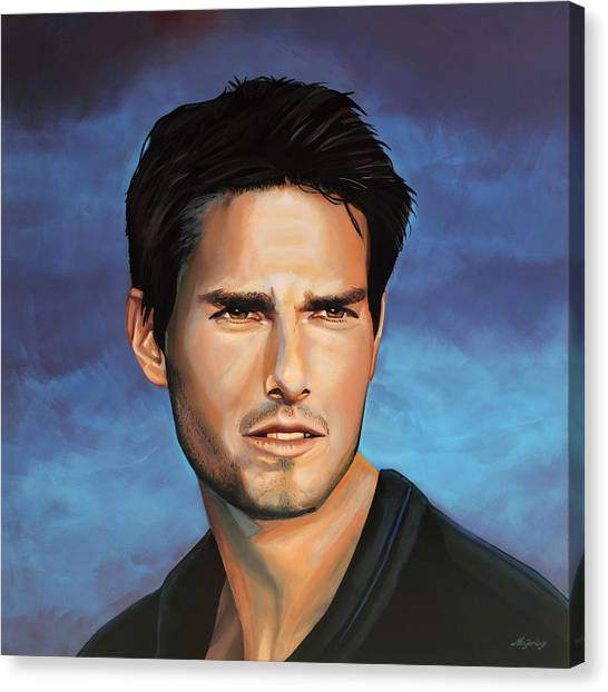 Mission Canvas Print -  Tom Cruise by Paul Meijering