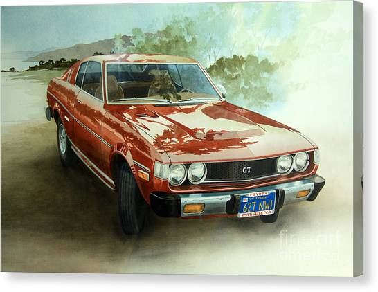 Toyota Supra Gt Canvas Print