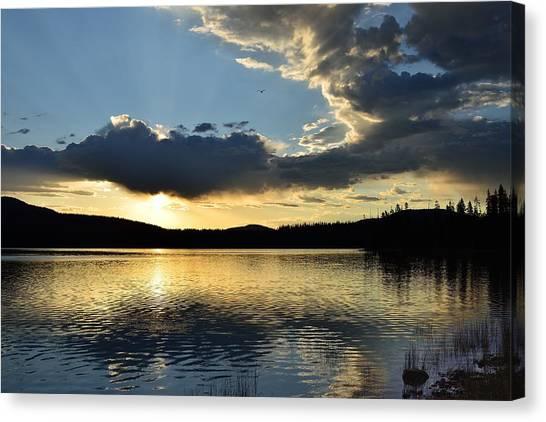 Unnamed Sunrise  I Canvas Print by Rich Rauenzahn
