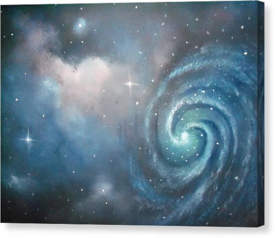 Vast Cosmos  Canvas Print by Ricky Haug
