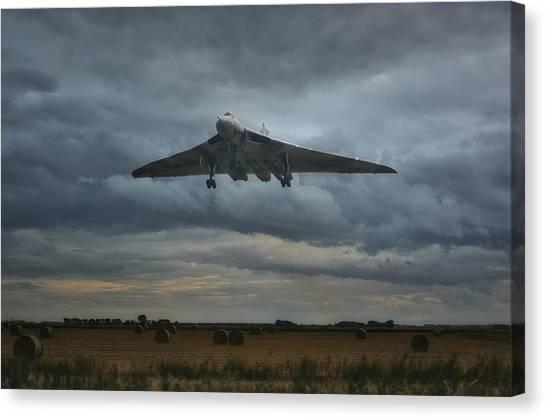 Vulcan Bomber Canvas Print