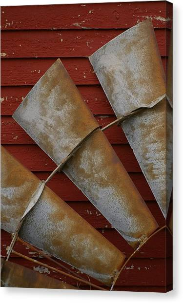 Windfan Leaning Canvas Print