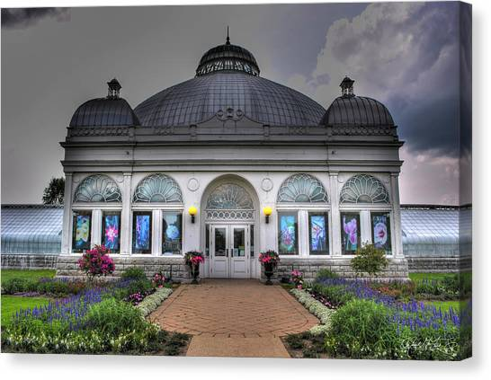 001 Buffal And Erie County Botanical Gardens Canvas Print