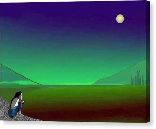 011 - Moon River Canvas Print
