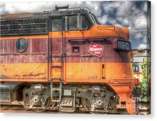 0119 The Milwaukee Road 2 Canvas Print