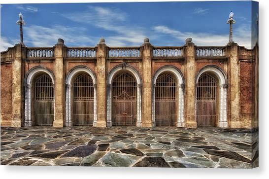 Five Gated Arches - Lakeland Florida Canvas Print