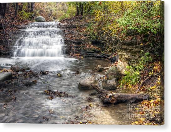 0278 South Elgin Waterfall Canvas Print