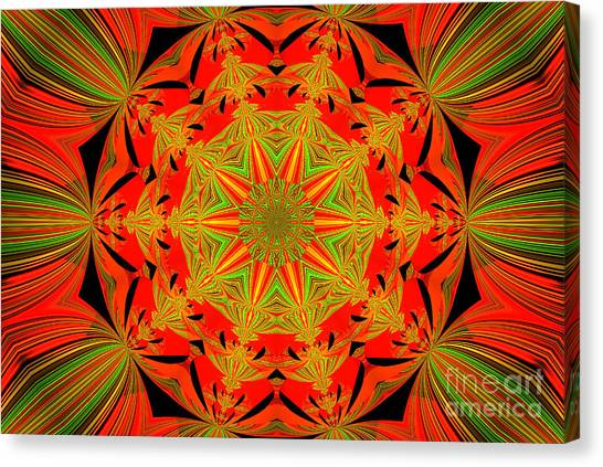 Brighten Your Day.unique And Energetic Art Canvas Print