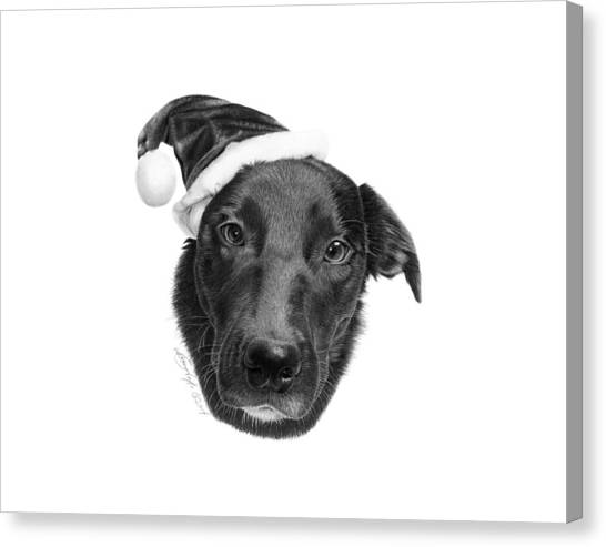 039 - 2014 Emmie Christmas Canvas Print