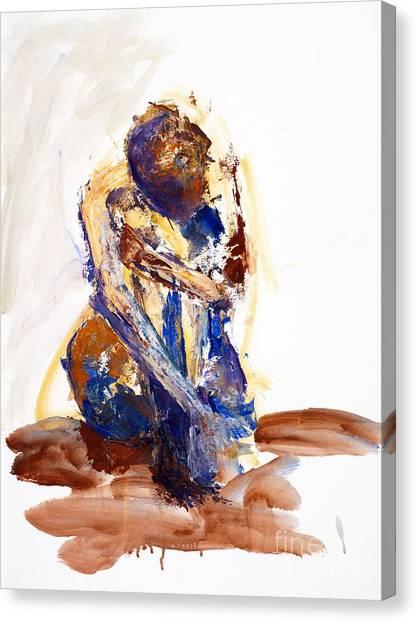 04893 Puddle Canvas Print