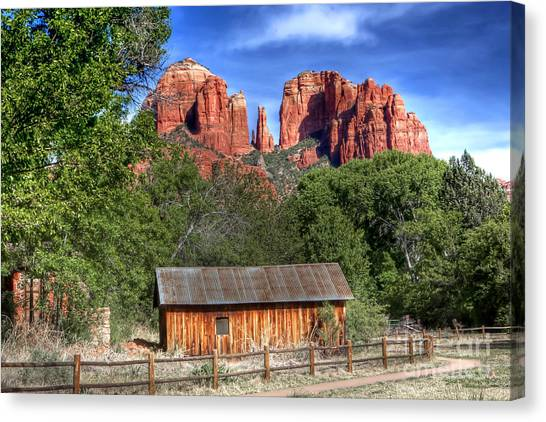 0682 Red Rock Crossing - Sedona Arizona Canvas Print