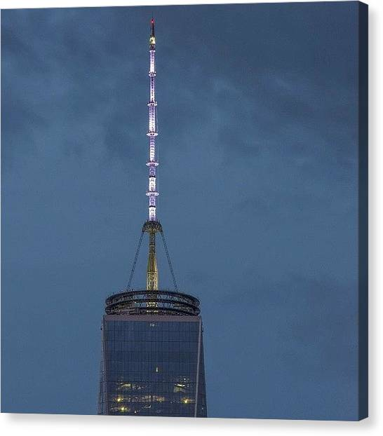 Law Enforcement Canvas Print - The Top Of Freedom by Marc Leonard
