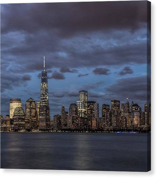 Law Enforcement Canvas Print - (07/24/2014) - Metropolis, Gotham, New by Marc Leonard