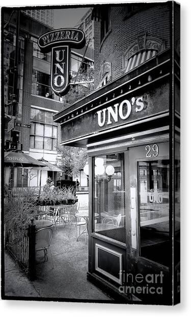 0748 Uno's Pizzaria Canvas Print
