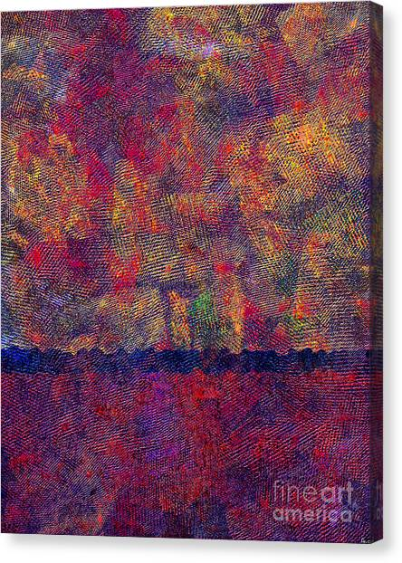 0799 Abstract Thought Canvas Print
