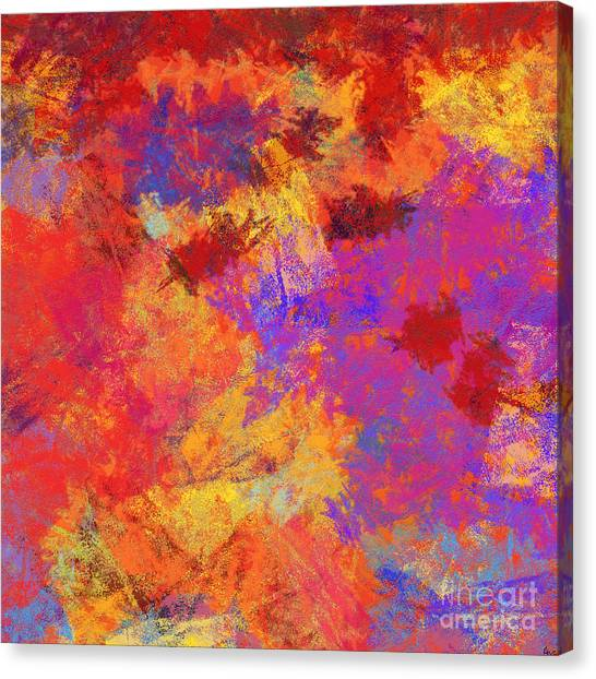 Contemporary Canvas Print - 0903 Abstract Thought by Chowdary V Arikatla
