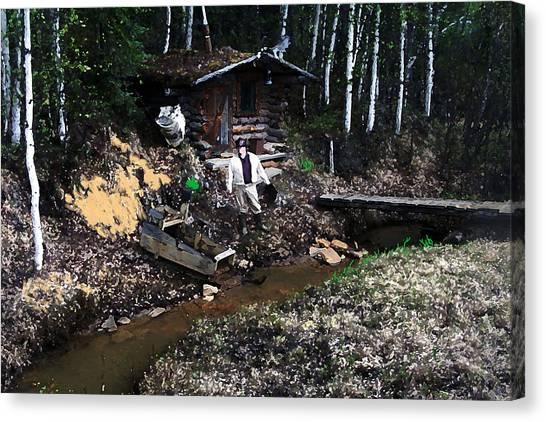090814 Alaskan Gold Miner Canvas Print