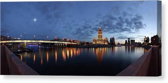 Moscow Canvas Print - *** by Victoria Ivanova
