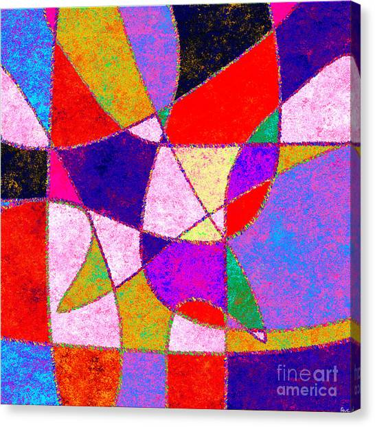 0269 Abstract Thought Canvas Print