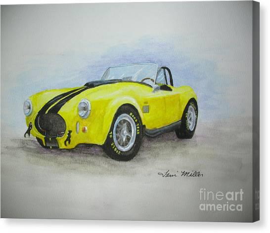 1965 Shelby Cobra Canvas Print by Terri Maddin-Miller