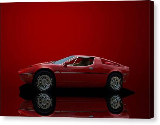 1975 Maserati Merak Canvas Print