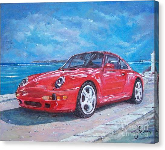 1997 Porsche Carrera S Canvas Print