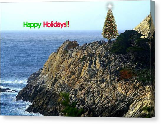 Coastal Holiday Canvas Print