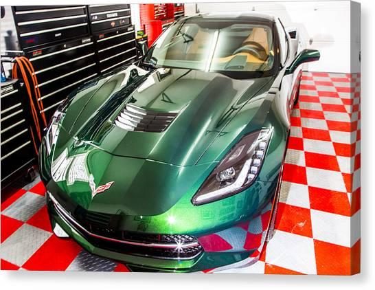 2014 Corvette Canvas Print