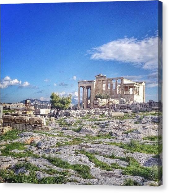 The Parthenon Canvas Print - #2014, #greece, #athens by Kunal Dalvi