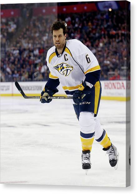 2015 Honda Nhl All-star Skills Canvas Print by Kirk Irwin