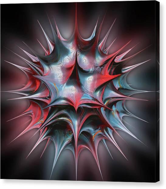 3d Visualization Canvas Print - 3d Fractal by Laguna Design/science Photo Library