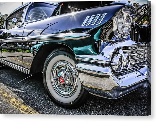 58 Chevy Impala Canvas Print