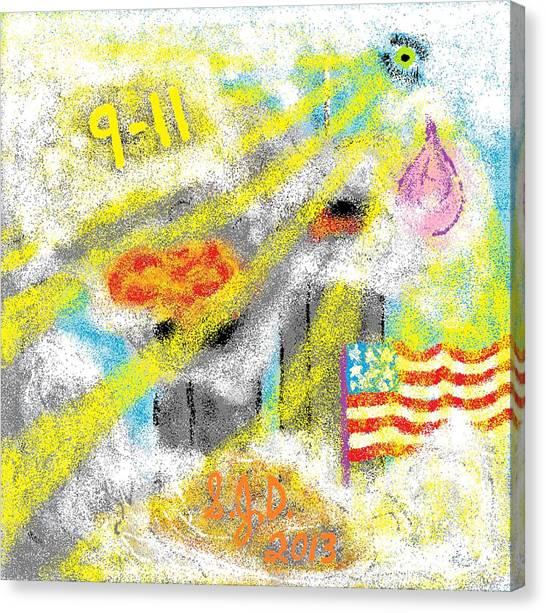 9-11 Canvas Print by Joe Dillon