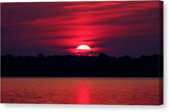 A Chesapeake Bay Sunrise Canvas Print