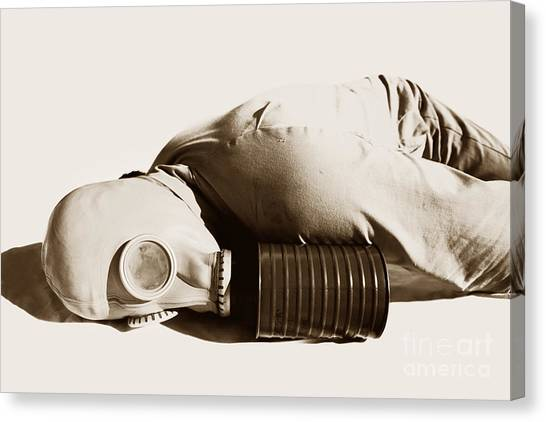 Biohazard Canvas Print - A Vintage Death by Jorgo Photography - Wall Art Gallery