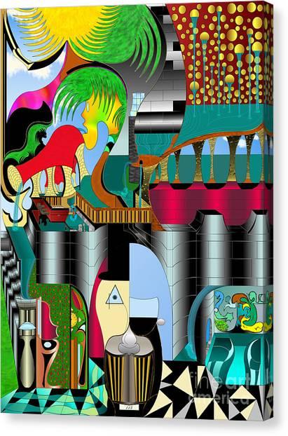Absentia Canvas Print