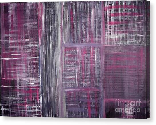 Abstract #1 Canvas Print by Angela Bruno