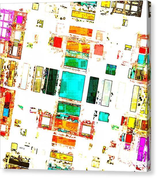 Abstract Geometric Art Canvas Print