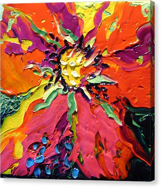 Abstract Canvas Print by Isabelle Gervais