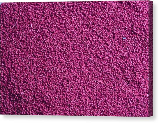 Abstract Texture - Purple Canvas Print