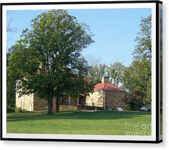 Adena Mansion Canvas Print