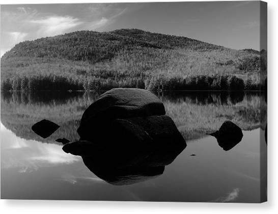 Pharoah Lake Reflections Canvas Print