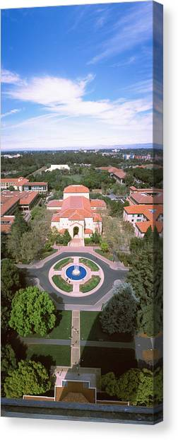 Stanford University Canvas Print - Aerial View Of Stanford University by Panoramic Images