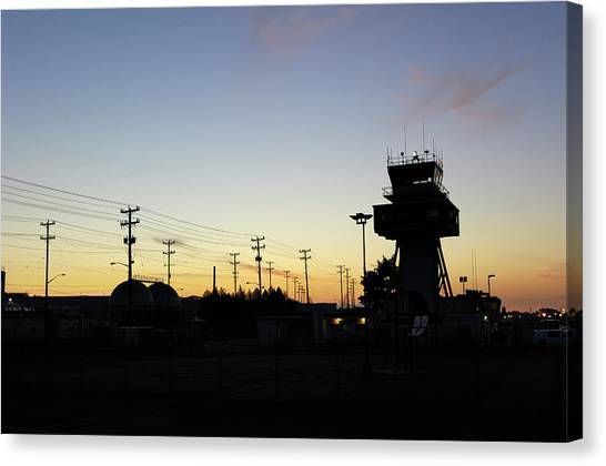 Air Traffic Control Canvas Print - Air Traffic Control Tower by Aviation Images / Science Photo Library